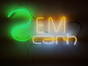 Title: SemNCarnE Exhibition: Sidonie Year: 2016 neon